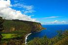 Big Island, Hamakua Küste, Waipio Valley Lookout