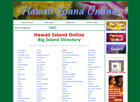 Hawaii Island Online Directory